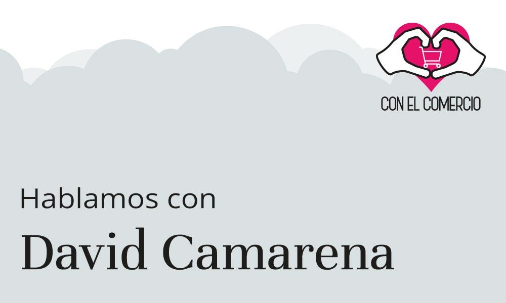David Camarena, con el comercio