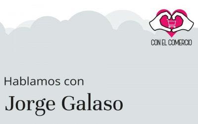 Jorge Galaso, con el comercio